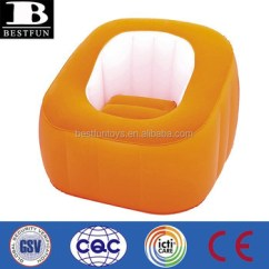 Inflatable Chair Stool Mid Century Modern Chairs Plastic Foldable Stools Flocking Colored Decorative Buy