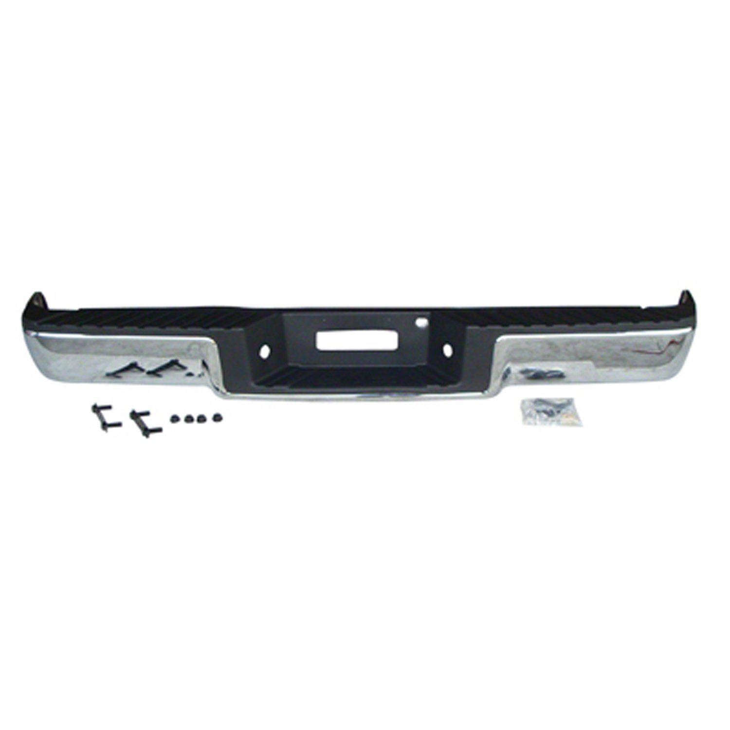 hight resolution of get quotations crash parts plus crash parts plus fo1103140 chrome rear bumper assembly for 2006 2008 ford