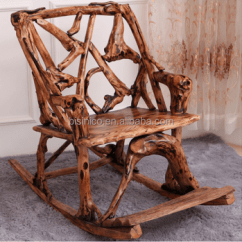 Wood Rocking Chair Styles Cheap Foldable Chairs Southeast Asia Style Root Carved Environmental Protective Solid Reclining