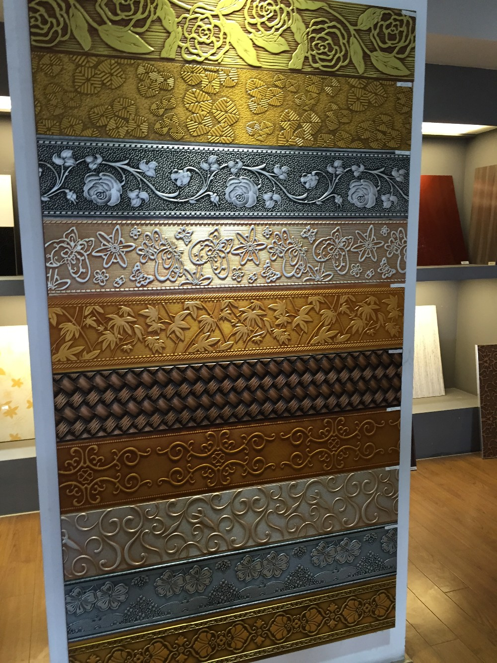 Decorative 4x8 Decorative Wall Panels  Embossed Mdf