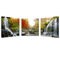 Natural Autumn Wall Art/wall Painting Canvas Landscape ...