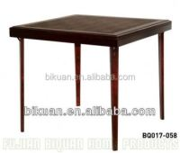 Bq Square Folding Wooden Kitchen Table And Chair