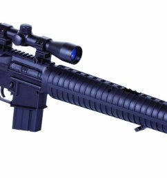 get quotations crosman mtr77 tactical style air rifle with 4x32 scope [ 1500 x 609 Pixel ]