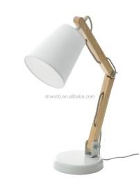 Wooden Swing Arm Table Lamp - Buy Wooden Lamp,Wooden Desk ...
