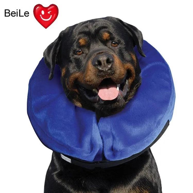 hot inflatable pet neck pillows dog collar flocking pet dog collar and nylon air pillow for dogs buy inflatable flocked neck pillow flocking pet dog