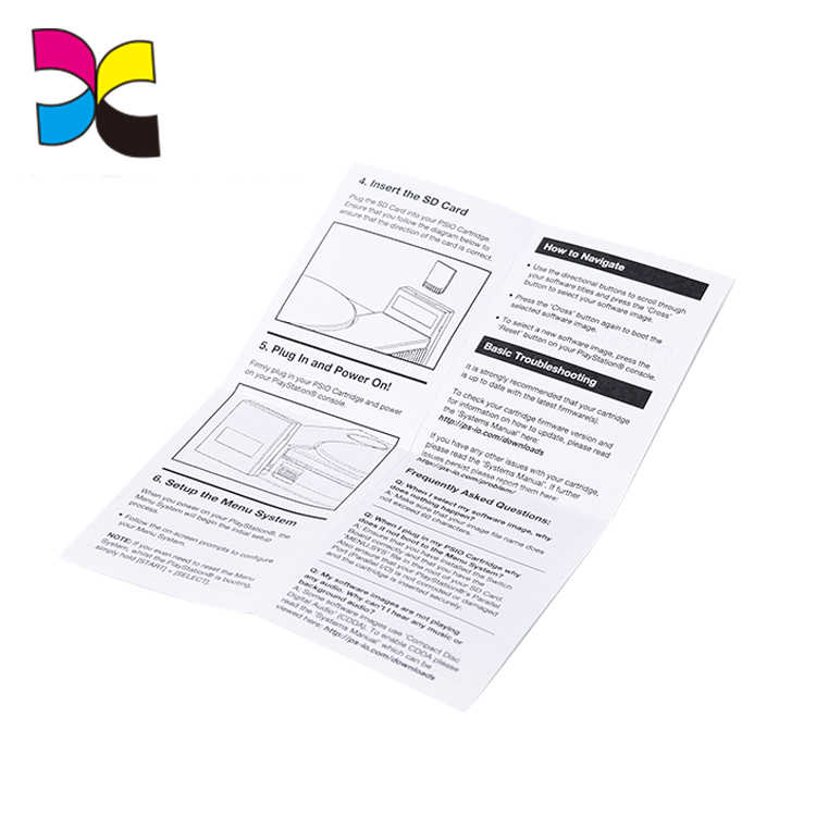 Custom Printing A4 Marketing Flyer/booklet/leaflet/manual