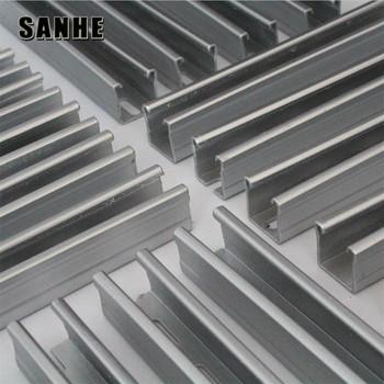 pabrik baja ringan profil z struktur truss purlin galvanis struktural steel