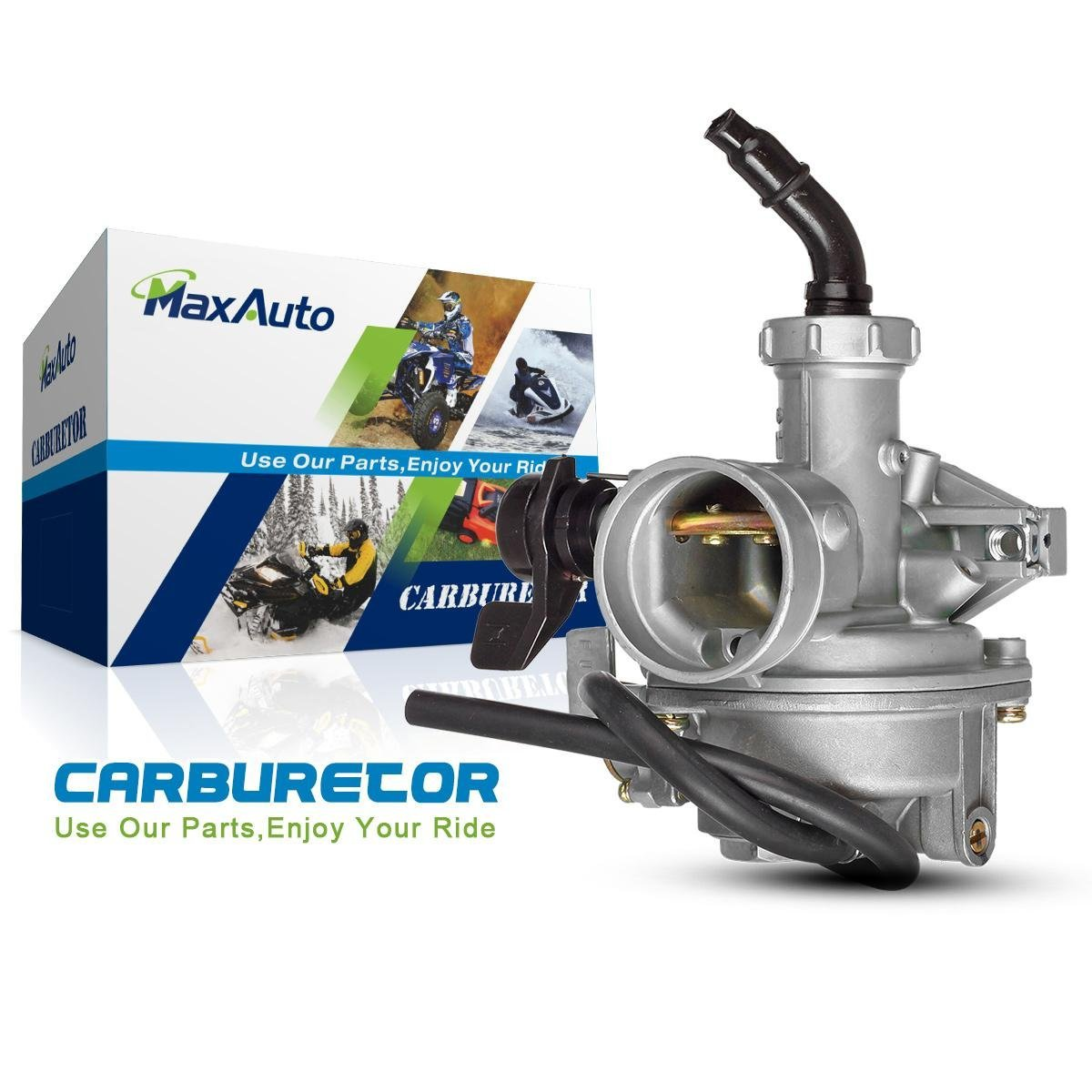 hight resolution of get quotations maxauto for 1979 1985 honda atc110 atc125 pz22c carb replacement carburetor w hand choke