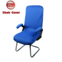 Royal Blue Chair Covers La Z Boy Executive 2 Cheap Find Deals On Get Quotations Deisy Dee Slipcovers Cloth Stretch Polyester For Mid Back Only