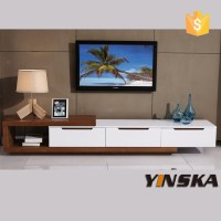 Living Room Furniture Wooden Lcd Led Tv Stand Design