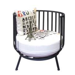 Metal Tub Chairs Folding Chair Bag 2017 Urban Style New Design Round Back Frame Club Sofa Living Room Furniture