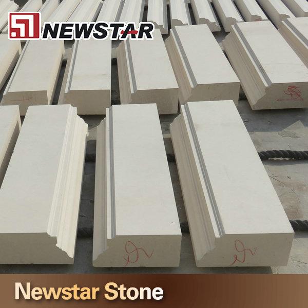 chair rail trim rei camp x newstar exterior white limestone window sill moulding cladding - buy stone ...