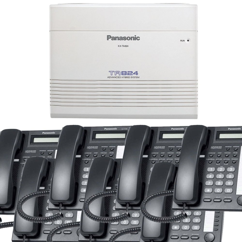 medium resolution of get quotations panasonic small office business phone system bundle brand new includiing kx t7730 7 phones black