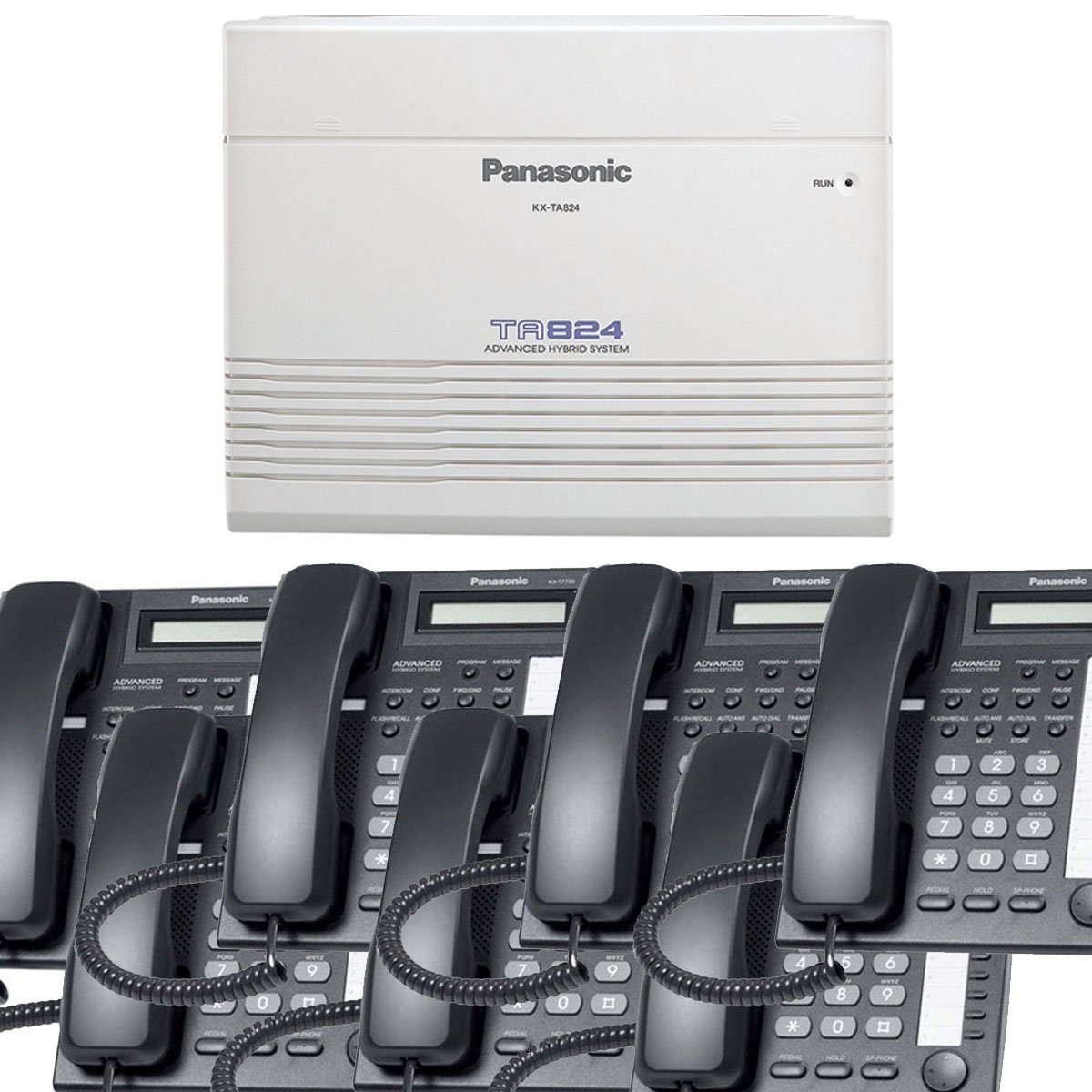 hight resolution of get quotations panasonic small office business phone system bundle brand new includiing kx t7730 7 phones black
