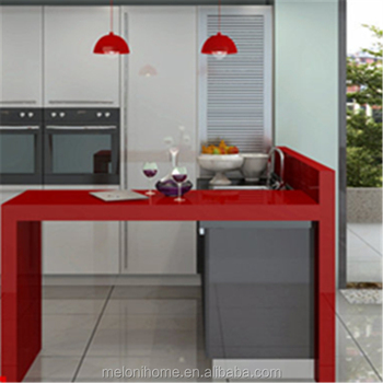 Ready Made Kitchen Pantry Cupboards Raised Kitchen Cabinet Design Red Pvc Kitchen Cabinets View Red Pvc Kitchen Cabinets Meloni Product Details From Guangzhou Meloni Decoration Engineering Co Ltd On Alibaba Com