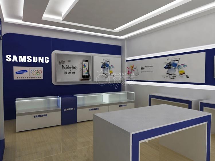 Electronics Computer Store Furniture Computer Showcase