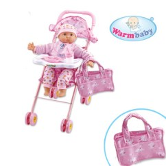 Baby Alive High Chair Covers West Yorkshire 18 Inch Toys Arabic Dolls With Highchair Buy