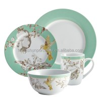 16pcs Fast Delivery Ceramic Colorful Dinnerware Sets - Buy ...