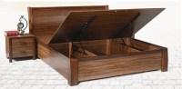 Storage Bedroom Furniture Type Dark Brown Solid Wood ...