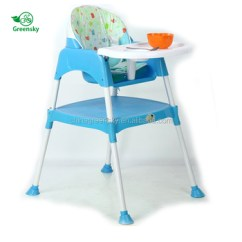 Portable High Chair Baby Beach Chairs With Shade Home Foldable Adjustable Plastic Dining Folding Booster Seat Feeding Eating