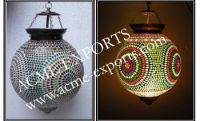 Mosaic Glass Lamps Exporter From India - Buy Mosaic Glass ...