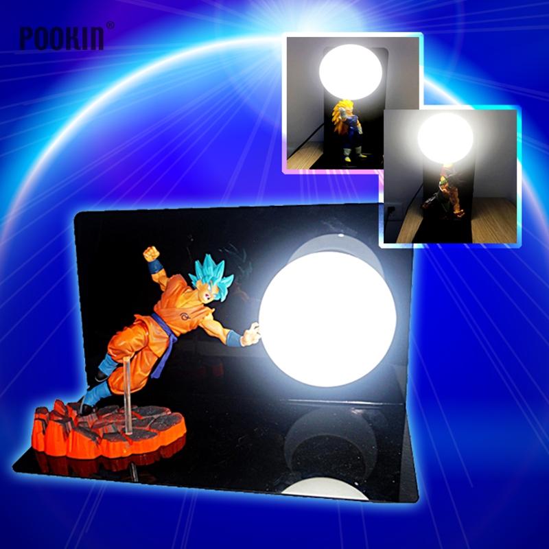 Hot Dragon Ball Goku Festigkeit Bomben Luminaria Führte Nachttisch Lampe  Urlaub Geschenk Zimmer Dekorative Led Beleuchtung In EU Us Stecker