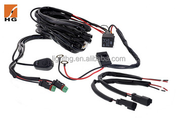 High Quality 3 Meter Wire Harness With Switch For Led Work