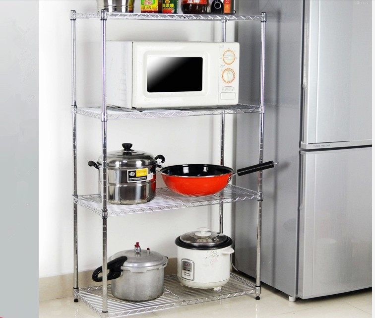 kitchen wire rack remodels chrome plated dismountable storage racks