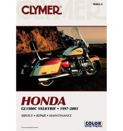 clymer honda gl1500c valkyrie 1997 2003  [ 1000 x 1000 Pixel ]