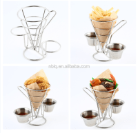 New Item Stainless Steel French Fry Holder,French Fries ...