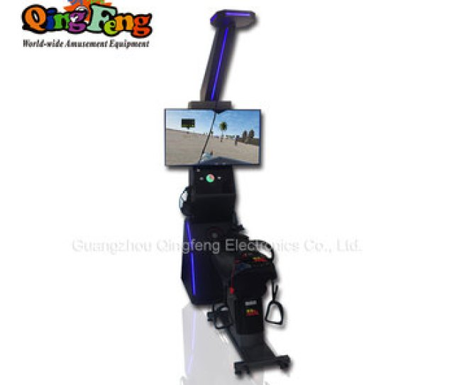 2017 Canton Fair Games Of Desire Ride Horse Vr Game Machine Sale For Business Street