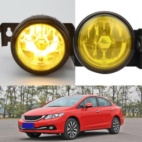 small resolution of get quotations dzt1968 12v 55w for 1999 2000 honda civic si type r jdm yellow fog lights