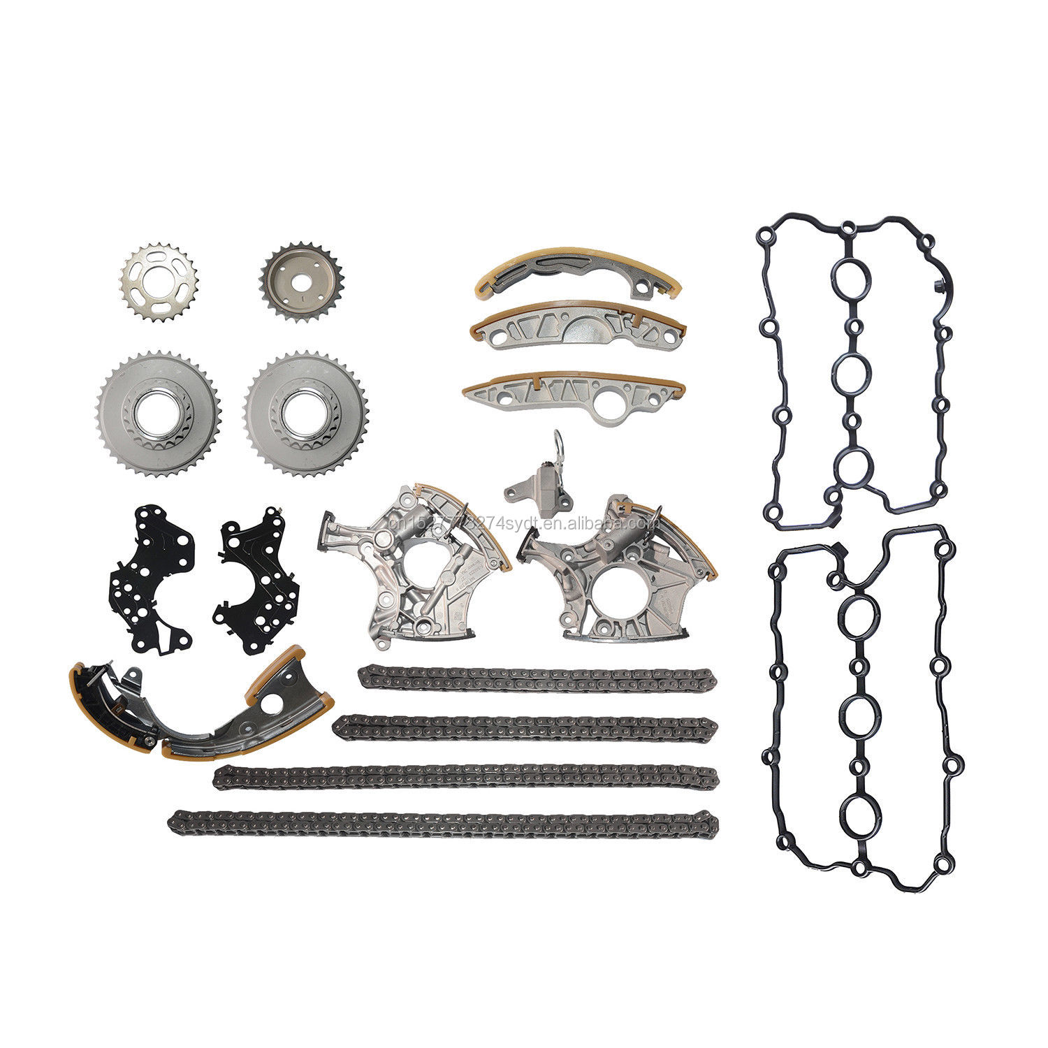 Full Kit Timing Chain Tensioner Gasket A4 A6 Q7 A8 R8 2.4l