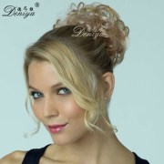 hair pieces top of head updo