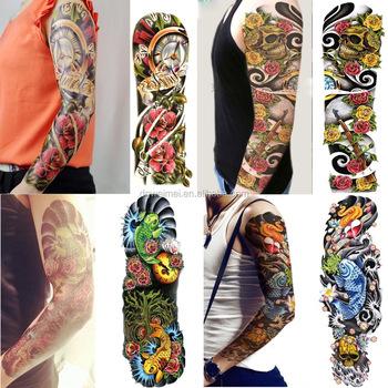 full arm temporary tattoo waterproof