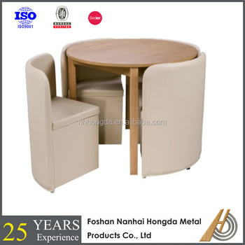 round wooden chair big man recliner chairs dinner table with 4 buy dining