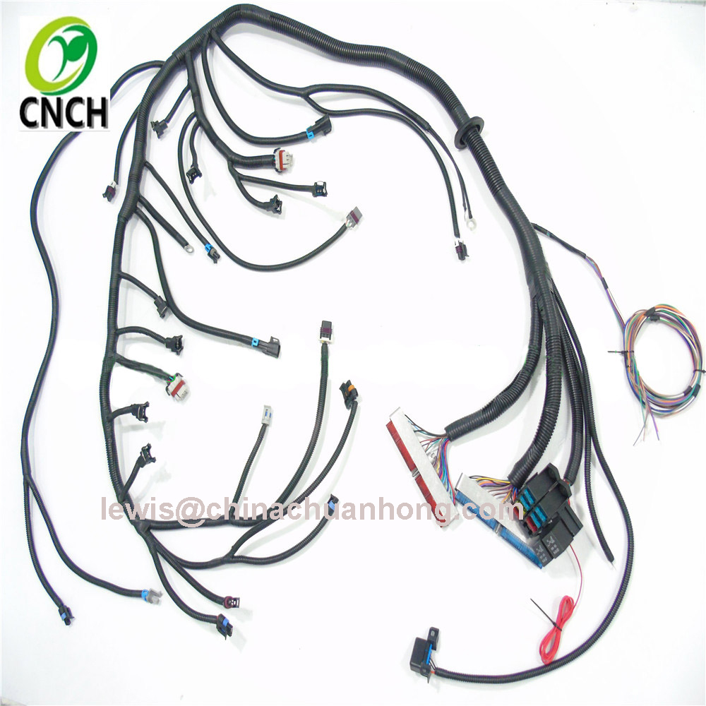 hight resolution of cnch lq4 lq9 6 0 standalone vortec truck engine wiring harness swap with 4l60e dbw