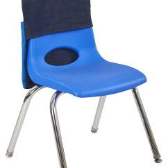 Classroom Organizer Chair Covers Parson Dining Chairs School Back Seat Portable Cheap Massage Cover