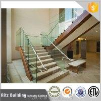 Modern Design Interior Glass Stair Railing Kits - Buy ...
