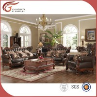 High End Classic Living Room Furniture Sofa - Buy Antique ...