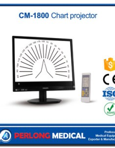 Cm   quot lcd visual acuity projector chart also buy vision rh alibaba