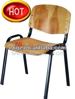 wooden library chair pink stool plywood reading for furniture study wood chairs
