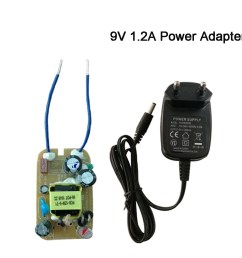c tick approved kc plug 12w 9v1 2a 9v 1 2a laptop circuit diagram charger converter pvc adapter [ 1000 x 1000 Pixel ]