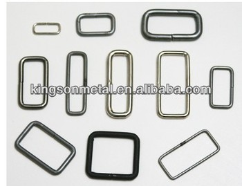 Solid Stainless Steel Rectangular O Ring For Watch