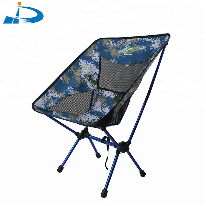 lightweight folding chairs hiking swivel chair bed portable reclining picnic camo camping moon