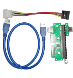 fidgetfidget cable pcie usb3 0 graphics display cable wire pci e x1 to x16 [ 1100 x 1100 Pixel ]