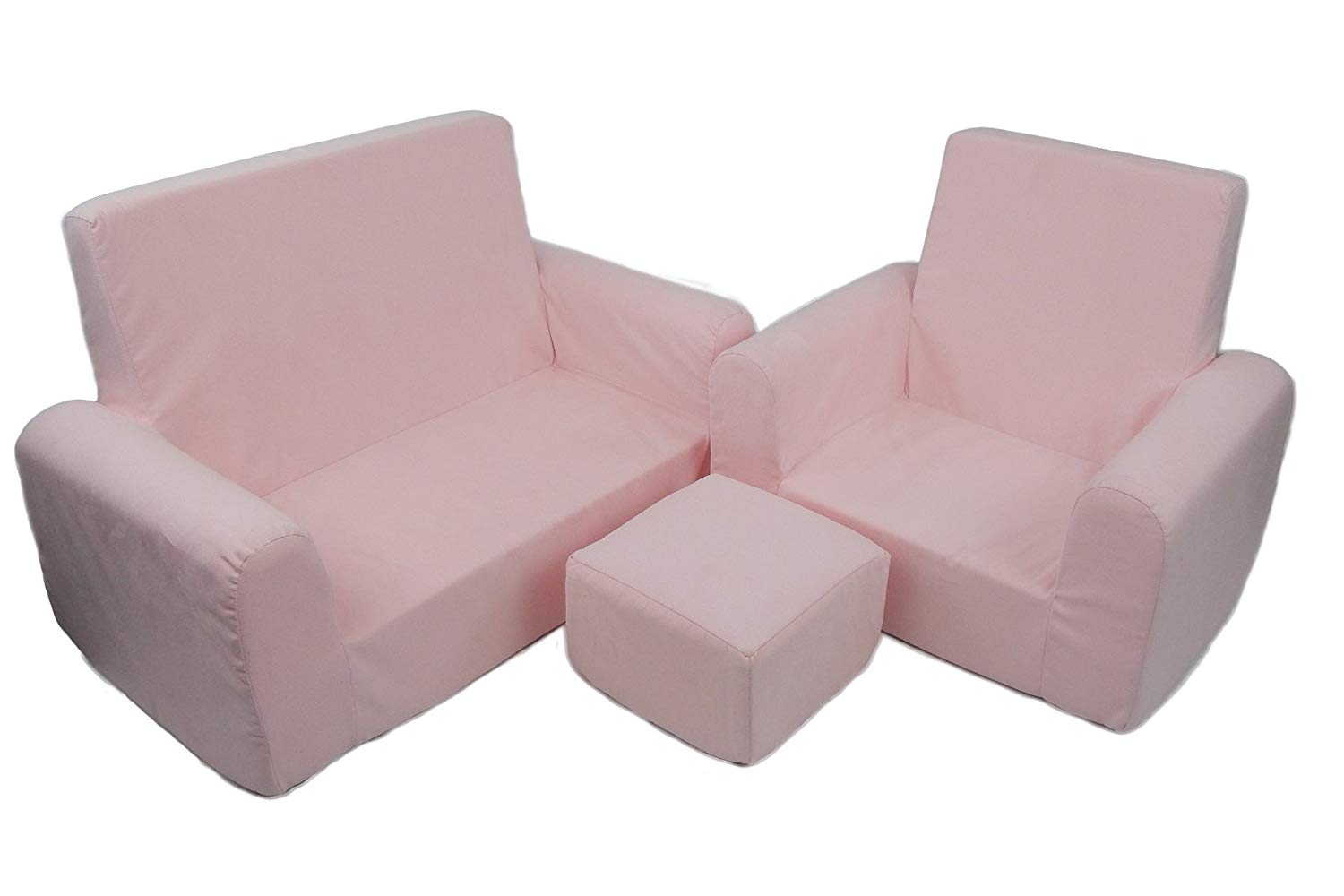 toddler chair and ottoman folding ladder cheap find get quotations fun furnishings 65230 sofa set