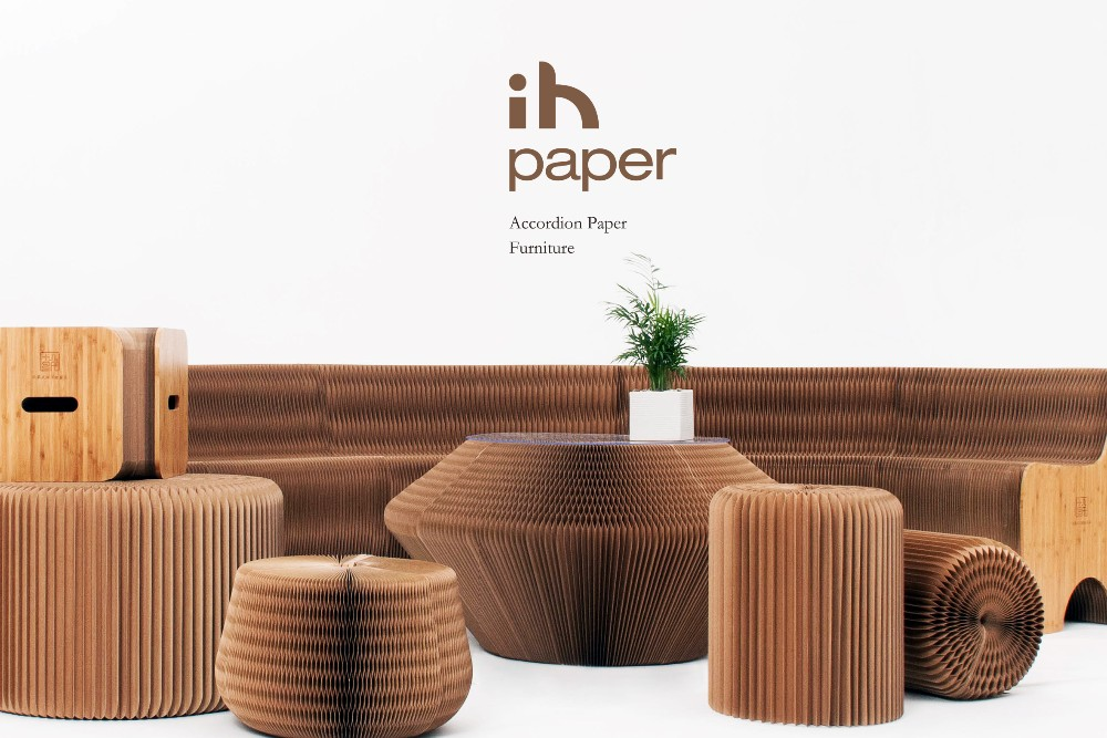 Modern Accordion Paper Home Furniture 12 Seating Sofa Buy Accordion Paper FurnitureModern
