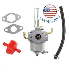get quotations shnile new carburetor carb fuel filter for toro 38587 38272 38282 38452 snow blower 119 [ 1200 x 1200 Pixel ]