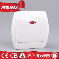 Electric Wall Switch With Led Indicator Light,Abs Material ...